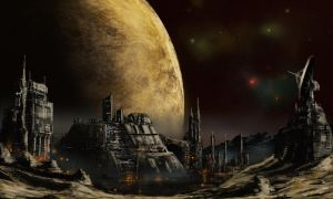 Outer territories- moon foundry by derbz
