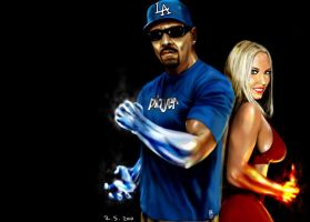 Ice-T and Coco by Robert-Shane