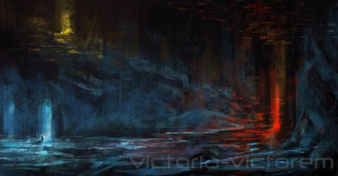 Speed paint. Dragon age inquisition by Victoria-victorem