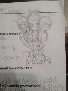 Axis Powers by TyTheDarkLord