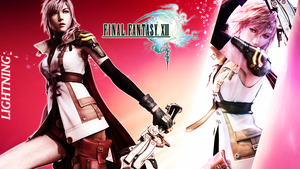 Final Fantasy XIII Wallpaper C by CrossDominatriX5