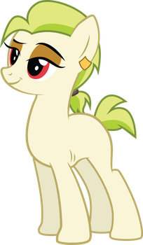 Golden Keylime (No Clothes) (Commission) by DuskTheBatPack