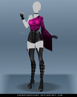 (closed) Outfit Adopt 670 by CherrysDesigns
