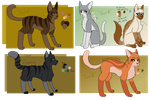 Gold Comic Characters by SilverWolf892