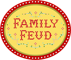 Family Feud logo - 1976 by wheelgenius