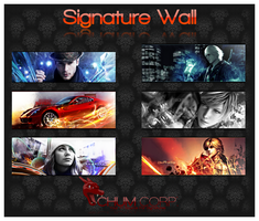 Signature Wall No.3 by Chum162