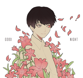 sleep well, kaneki by VictoriaSty