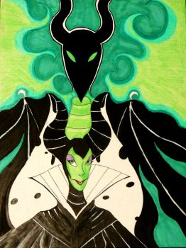 Maleficent by Wicked-MSTH
