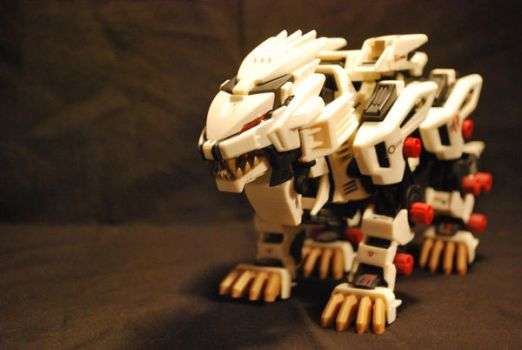 Liger Zero Model. by animeartist2007