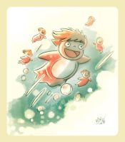 Ponyo by mikemaihack
