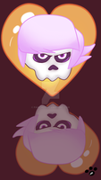 Mystery Skulls Ghost by pawzroo
