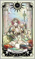 Tarot card 3- the Empress by rann-poisoncage