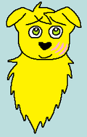 A yellow puppy by ShadowTheLeader