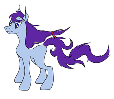 [Name decided] An unnamed long mane pony by FlameRat-YehLon