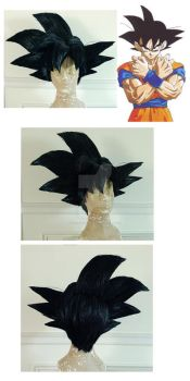 Goku DragonBall Z Cosplay Wig by TechnoRanma