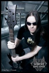 Harold Gielen for Schecter by metalpics