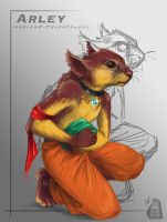 Arley: The Klepto Space Squirrel by AdmYrrek