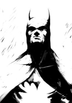 The Caped Crusader by eimrehs
