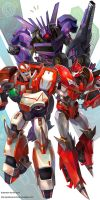 transformers prime scientists by GoddessMechanic