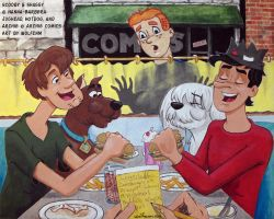 Scooby-Doo Visits Riverdale: Boys and Their Dogs by WolfenM