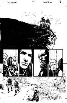 Dark Matter page inks by thisismyboomstick