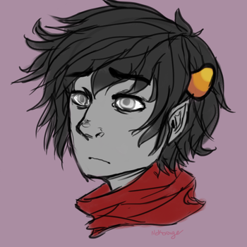 Kankri Vantas by AnarchicalMalkin