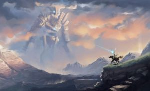 Shadow of the Colossus Fan Art by ignius-fa