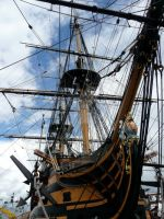 Photo: HMS Victory by xpirateobsessedx