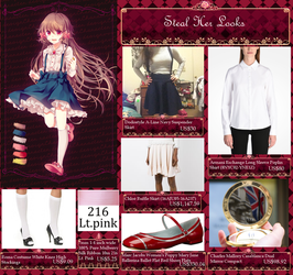 [STEAL HER LOOKS] - Pocket Mirror by GiromCalica