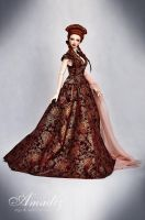 Sansa wedding dress 02 by amadiz