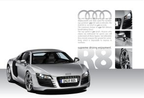 Audi R8 vector Finished by LoinCandy