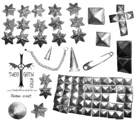 Studs Brushes by TheoGothStock