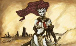 Darksiders : fury by chimicalstar