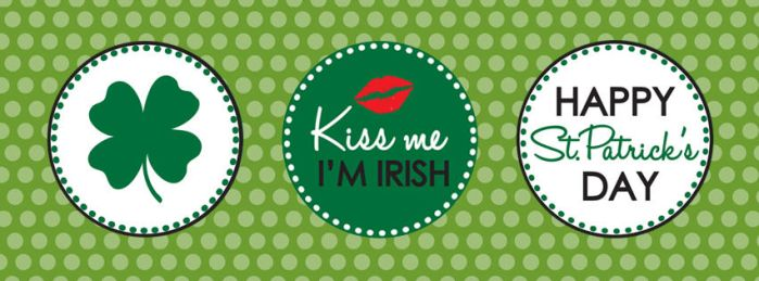 St Patrkc's Day Facebook Cover by lisashirts