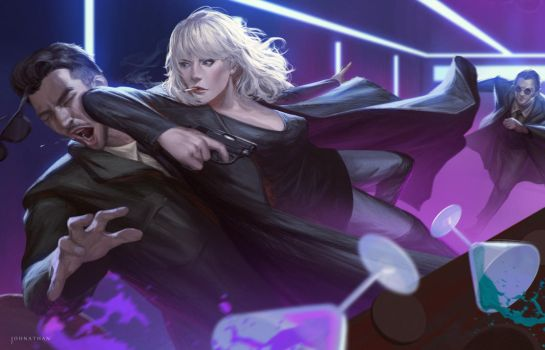 Atomic Blonde by JohnathanChong