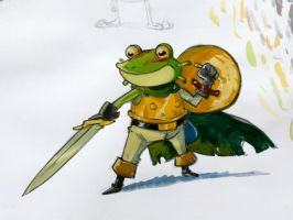 Frog Chrono Trigger by CROMOU