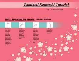 Kanzashi Tutorial - Part 7 by Kurokami-Kanzashi