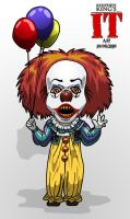 Pennywise by ajhockham