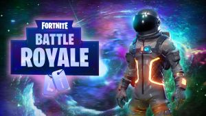 Fortnite BR Space DA by LordMaru4U