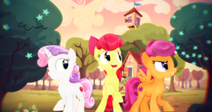 [MMD] Cutie Mark Crusaders by Sparkiss-Pony