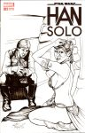 Star Wars Han Solo no1 Sketch Cover by DocRedfield