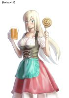Prost!Bismarck by misumi-illustration