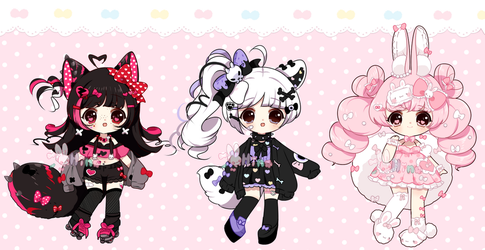 [ Auction ] Cuties* [ on hold ] by Hinausa
