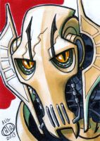 General Grievous Sketch Card by Chad73