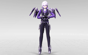 [MMD-Elsword] Add Lunatic Psyker DOWNLOAD! by Darknessmagician
