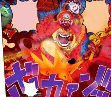 One Piece Chapter 873+ BIG MOM KEEP RUNNING END by Amanomoon