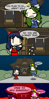[4koma] The Shrine Maiden's Murder Victim by exfodes