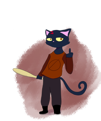 Mae Borowski by Animatorist