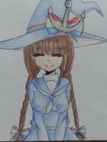 [ Redraw ] Wadanohara by PinkPearlMLP