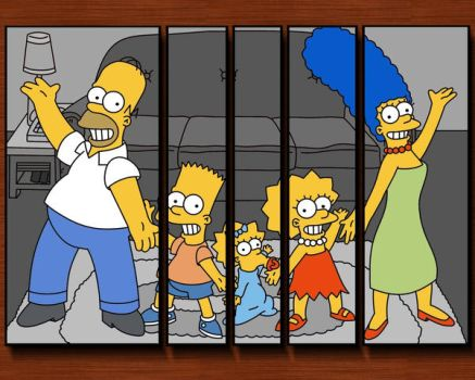 The Simpsons by Mman6460